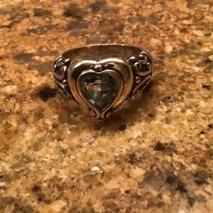 BRIGHTON Sterling Silver Ring with Heart